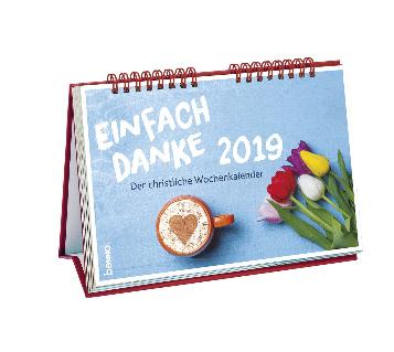 """Kalender """"Einfach Danke 2019"""" Benno-Verlag"""