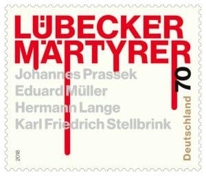 Sonderbriefmarke Lübecker Märtyrer