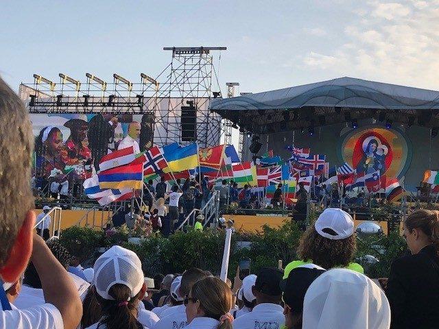 Eindrücke vom Weltjugendtag