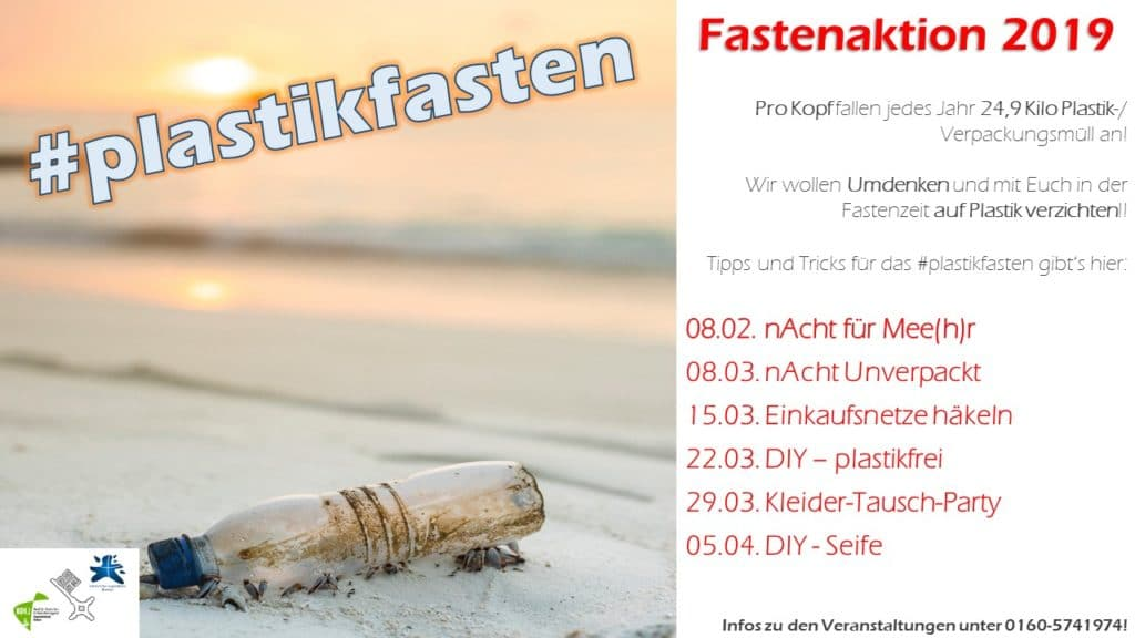 Flyer zur Fastenaktion