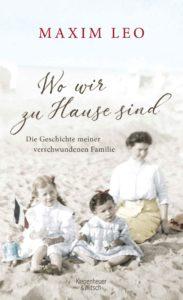 Buchcover Wo wir zu Hause sind, Verlag Kiepenheuer & Witsch