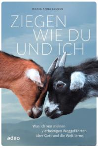 Buchcover Ziegen wie du und ich, adeo Verlag