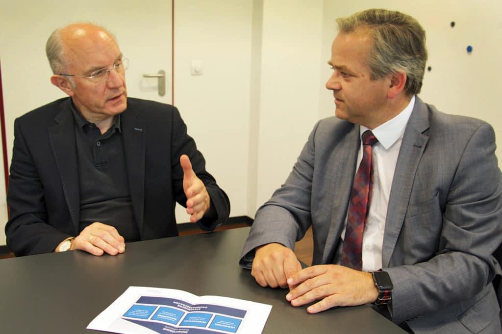 Heinz-Wilhelm Brockmann und Thomas Veen