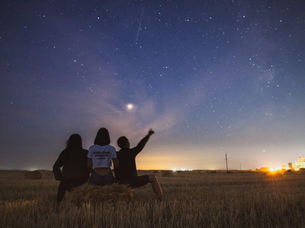 Sternschnuppen und wunsche