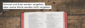 Bibel, Worte