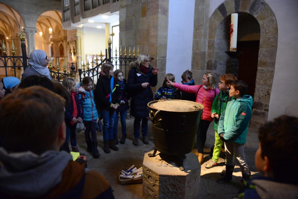 Interreligiöse Führung im Dom Osnabrück