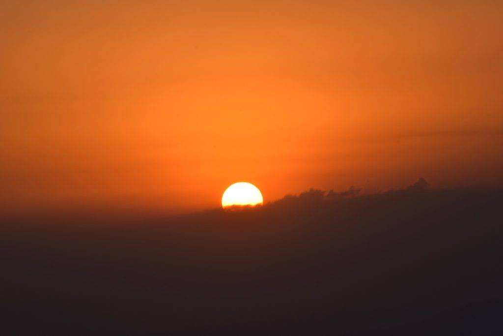 Sonnenuntergang in El Salvador