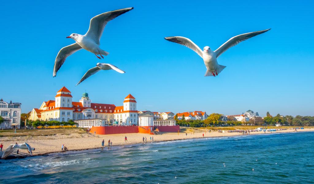 Strandpromenade Binz auf Rügen