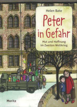 Buchcover Peter in Gefahr Helen Bate Moritz Verlag Frankfurt am Main