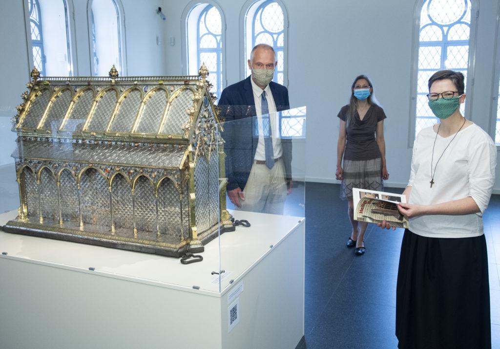 Reginenschrein im Diözesanmuseum Osnabrück
