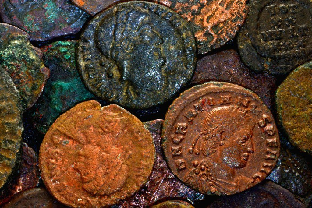 Münzen, Römer, Antike