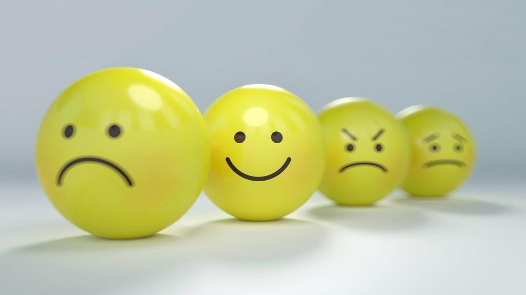 Smileys, Lachen, Weinen, ärgern