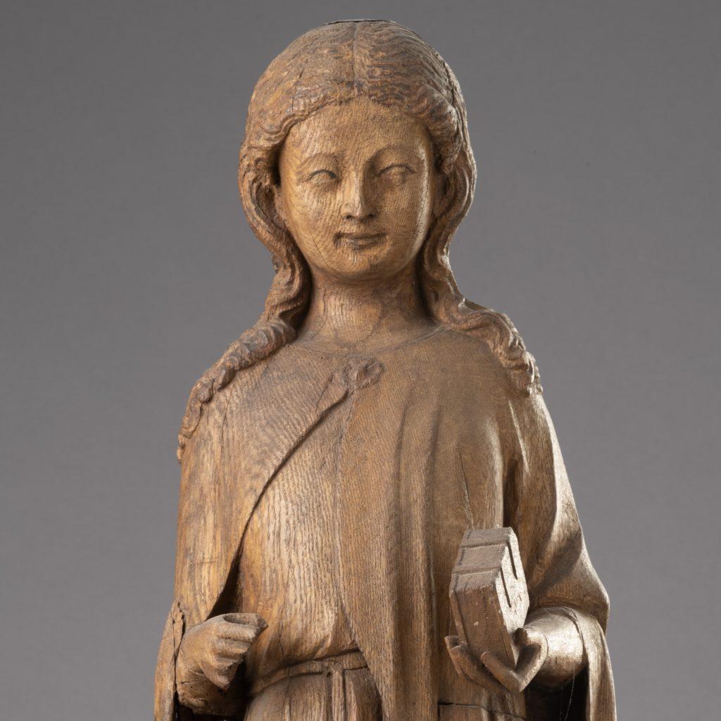 Die Statue der heiligen Margarethe