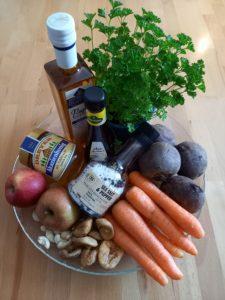 Zutaten Rote Bete Salat