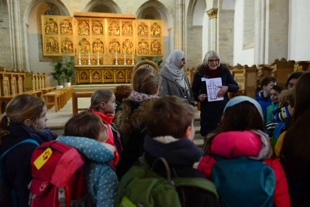 Interreligiöser Programm im Osnabrücker Dom