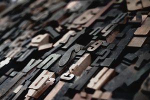 Druckbuchstaben