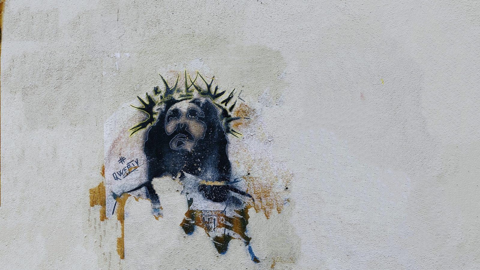 Jesus gemalt