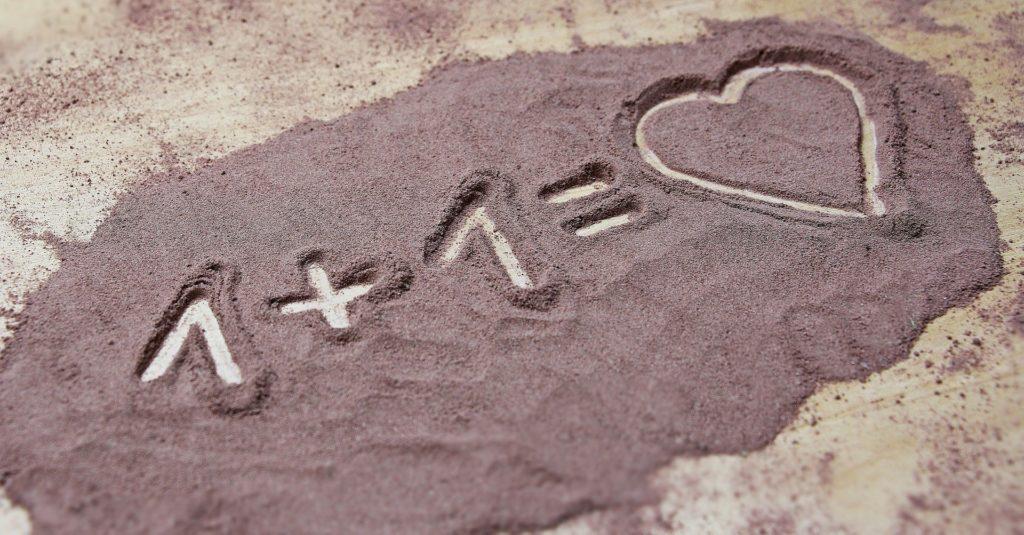 1+1= Liebe