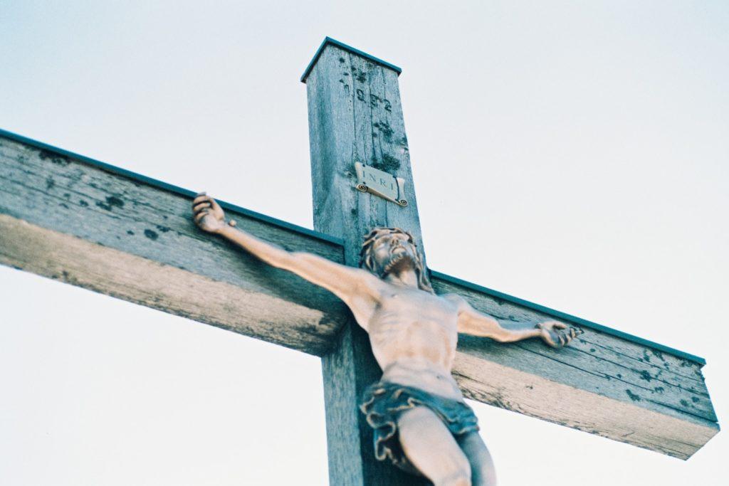 Jesus Christ am Kreuz