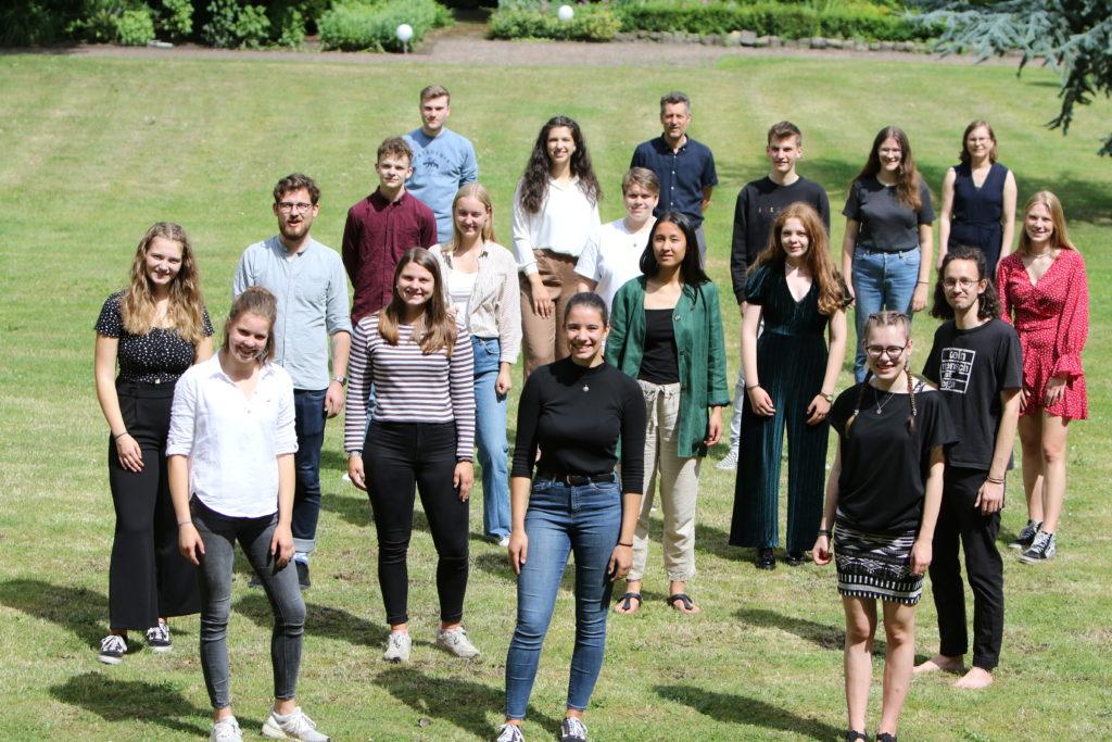 Eine Gruppe von Jugendlichen